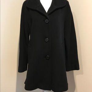 Ellen Tracy - Women's Black Winter Coat